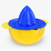 Squeezer Plast 3d model