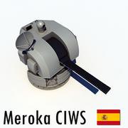 メロカCIWS 3d model