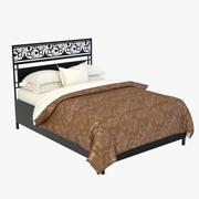 Bed ornament 3d model