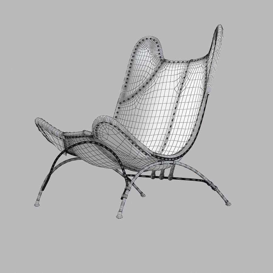 Ralph Lauren Nuova sedia da campeggio Safari royalty-free 3d model - Preview no. 6