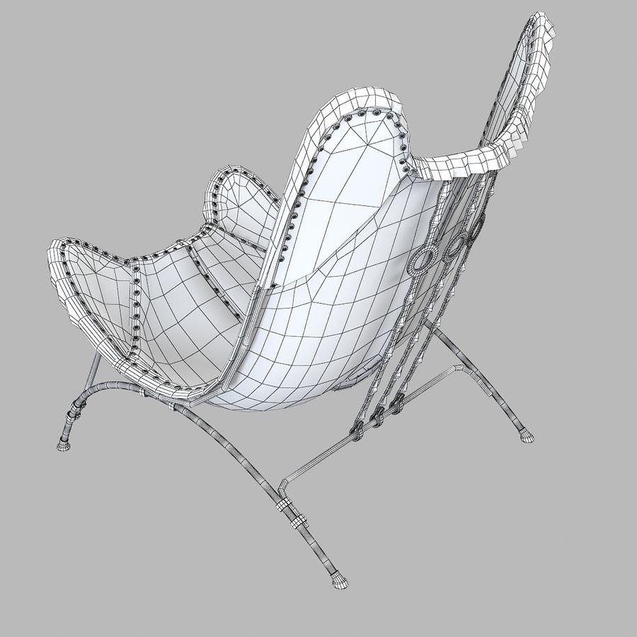 Ralph Lauren Nuova sedia da campeggio Safari royalty-free 3d model - Preview no. 5