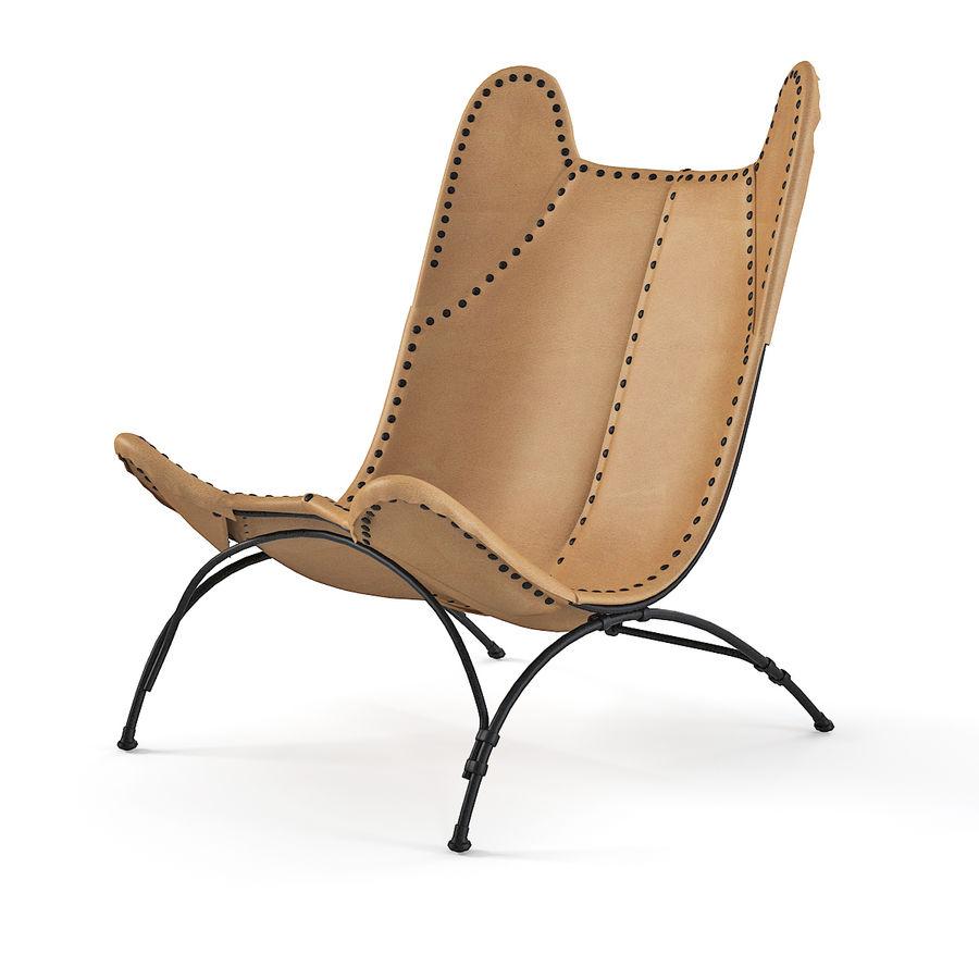 Ralph Lauren Nuova sedia da campeggio Safari royalty-free 3d model - Preview no. 1