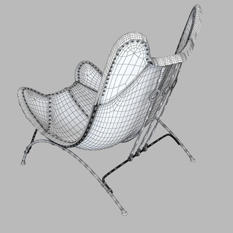 Ralph Lauren Nuova sedia da campeggio Safari royalty-free 3d model - Preview no. 7
