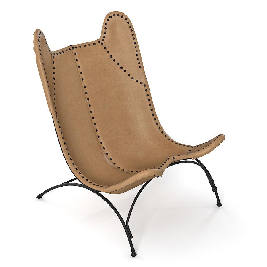 Ralph Lauren Nuova sedia da campeggio Safari royalty-free 3d model - Preview no. 2