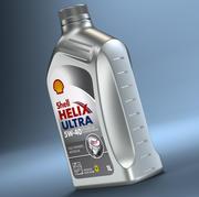 シェルヘリックスボトル 3d model