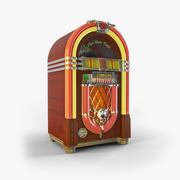 jukebox illuminated 3d model