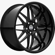 HRE C20ブラック 3d model