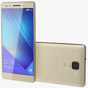 Huawei Honor 7 Gold 3d model