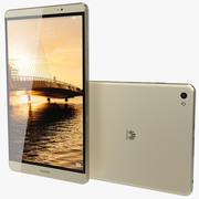 Huawei MediaPad M2 Gold 3d model
