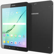 Samsung Galaxy Tab S2 9.7 Black 3d model