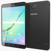 Samsung Galaxy Tab S2 8.0 Black 3d model