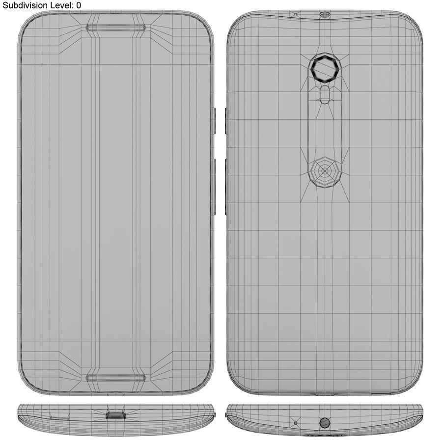 Motorola Moto G 2015 Blanc royalty-free 3d model - Preview no. 17