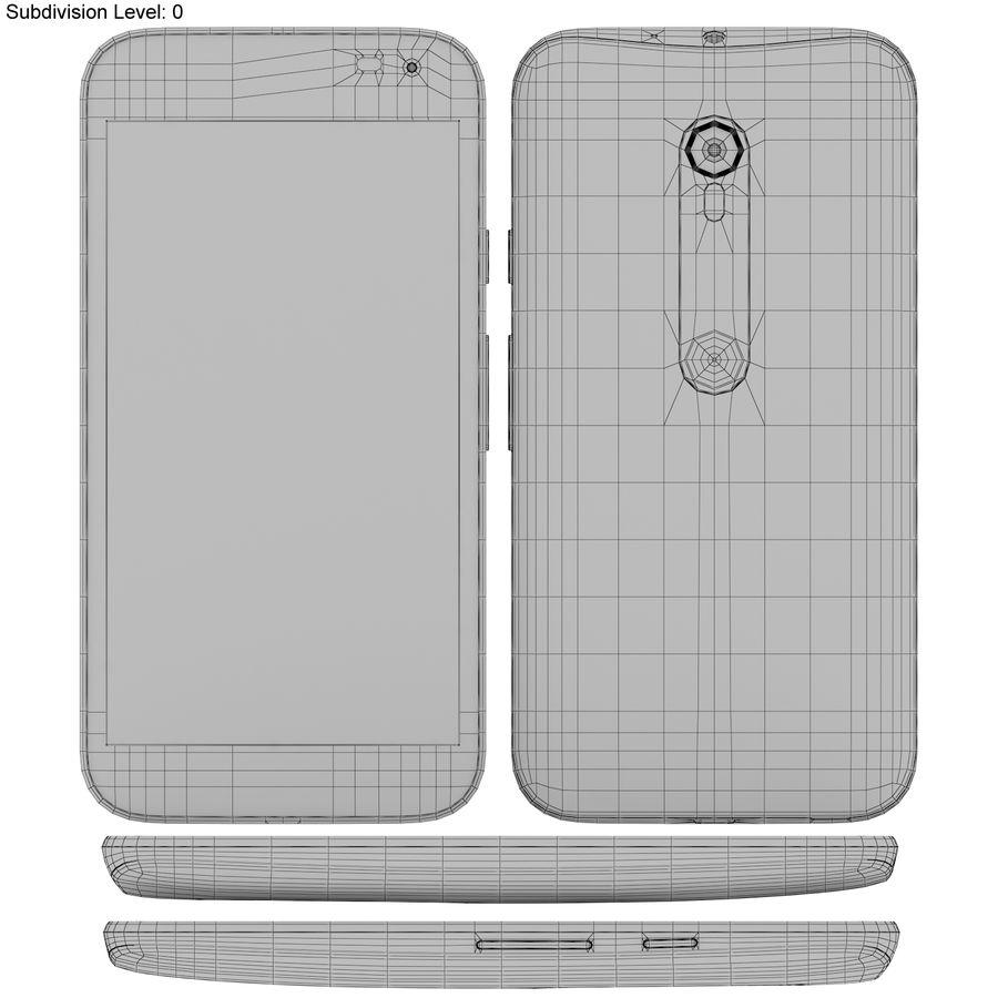 Motorola Moto G 2015 Blanc royalty-free 3d model - Preview no. 19
