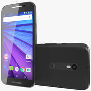 Motorola Moto G 2015 Negro modelo 3d