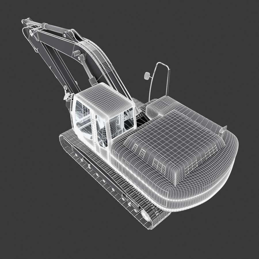 挖掘机 royalty-free 3d model - Preview no. 1