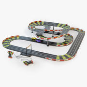 Toy Racing Track modelo 3d