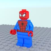 Lego Uomo Ragno 3d model