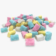 Marshmallow Pile 02 3d model