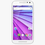 Motorola Moto G (3a generazione) Bianco 3d model