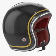 Motorcycles Helmet Ruby black 3d model
