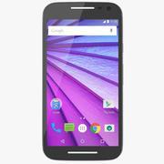 Motorola Moto G (3. generacji) Czarny 3d model
