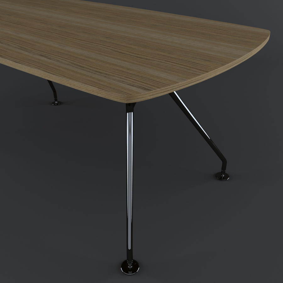 Dinner Table royalty-free 3d model - Preview no. 7