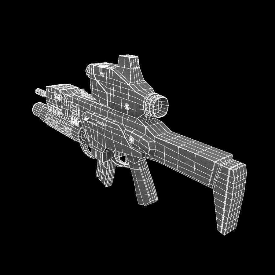 어썰트 라이플 베레타 ARX-160 royalty-free 3d model - Preview no. 26