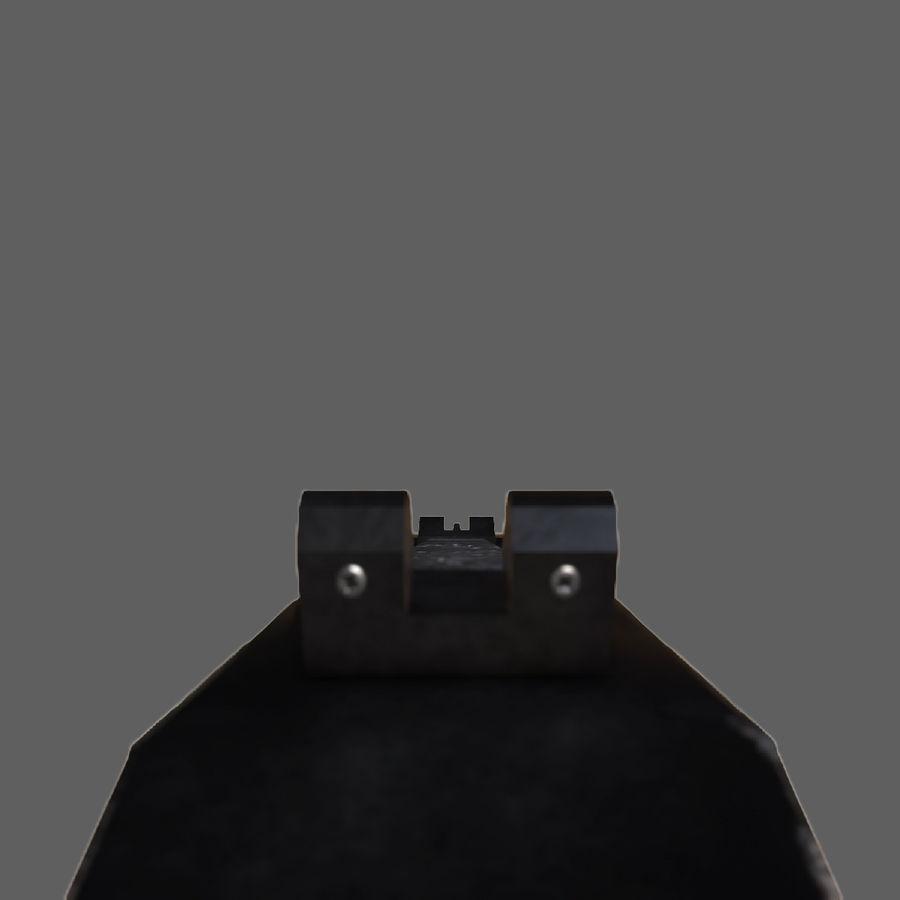 어썰트 라이플 베레타 ARX-160 royalty-free 3d model - Preview no. 16
