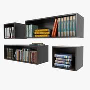 Półki na książki 3d model