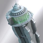 Building Science Fiction 3d model