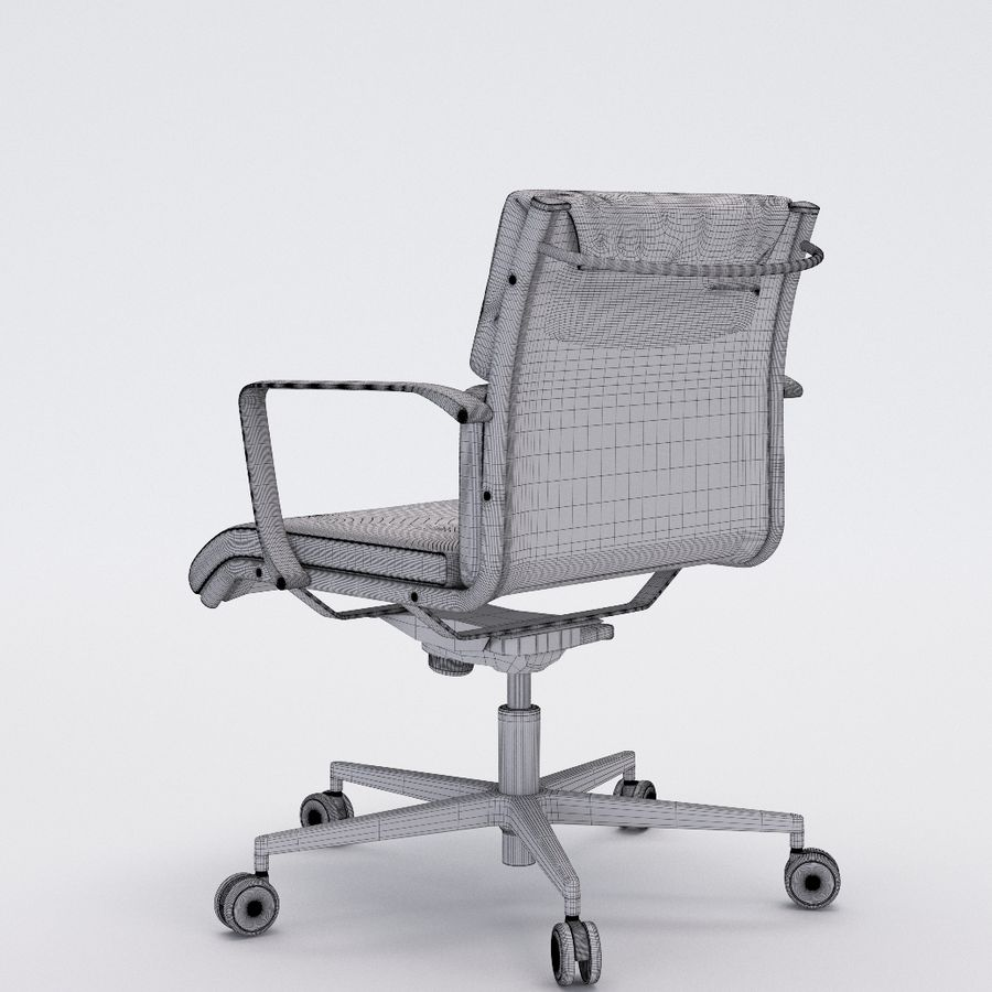 Collezione Office Chair 1 royalty-free 3d model - Preview no. 35