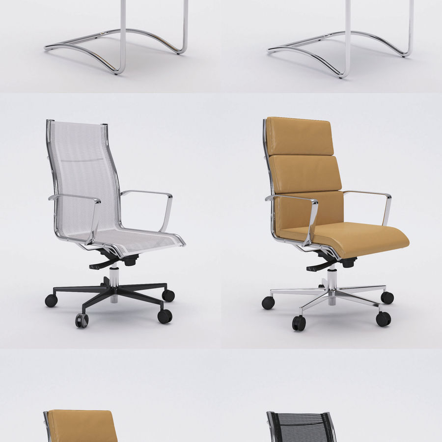Collezione Office Chair 1 royalty-free 3d model - Preview no. 1