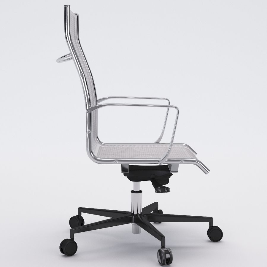 Collezione Office Chair 1 royalty-free 3d model - Preview no. 12