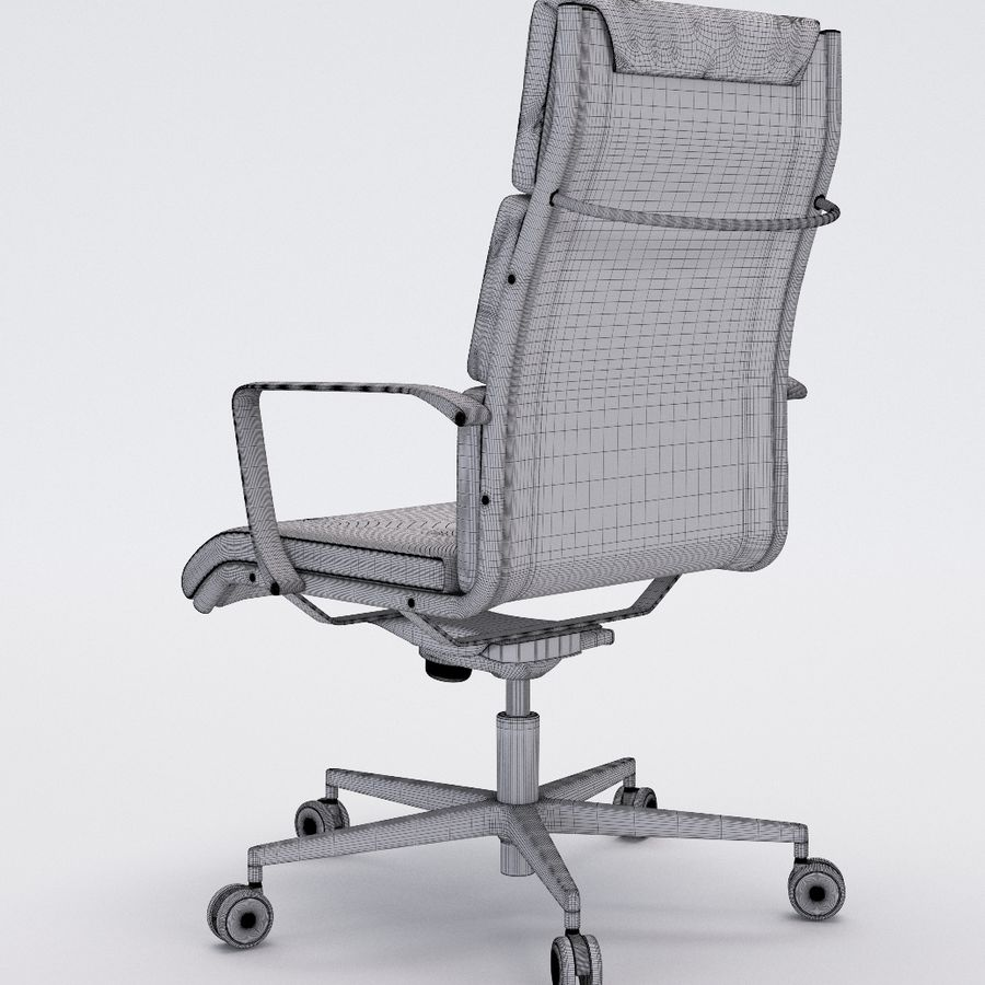 Collezione Office Chair 1 royalty-free 3d model - Preview no. 33