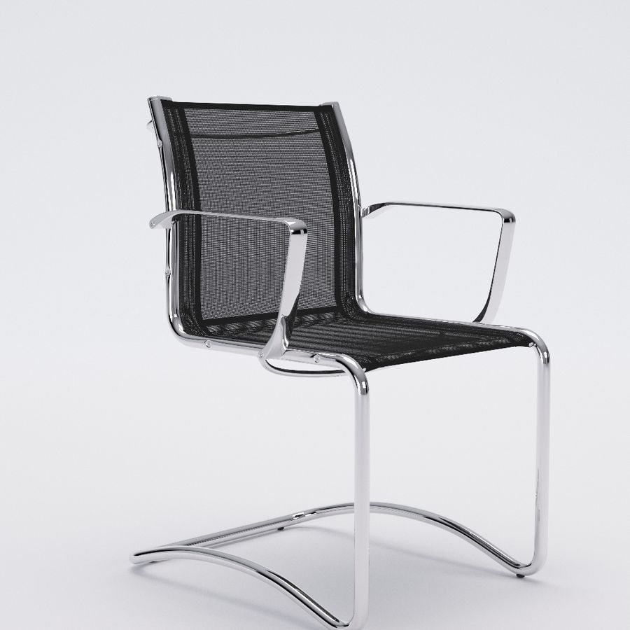 Collezione Office Chair 1 royalty-free 3d model - Preview no. 7