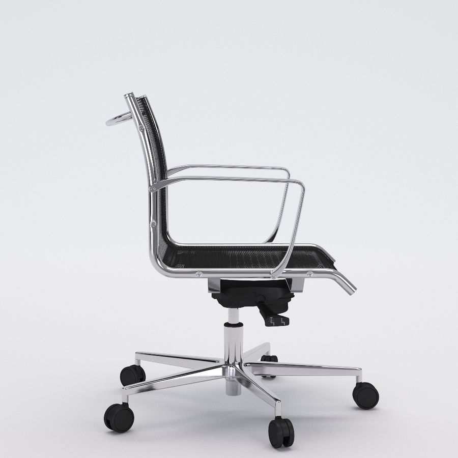 Collezione Office Chair 1 royalty-free 3d model - Preview no. 24