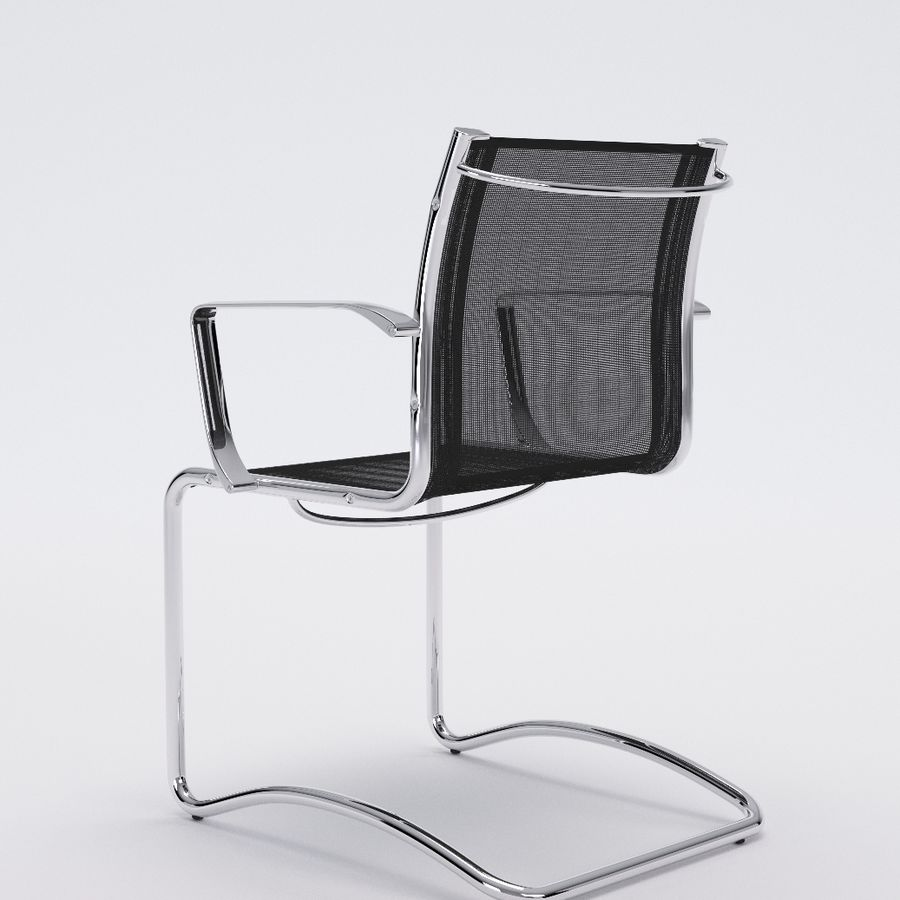 Collezione Office Chair 1 royalty-free 3d model - Preview no. 9