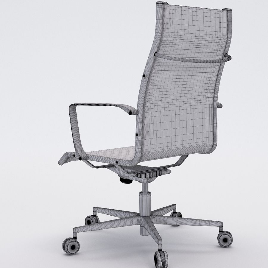 Collezione Office Chair 1 royalty-free 3d model - Preview no. 31