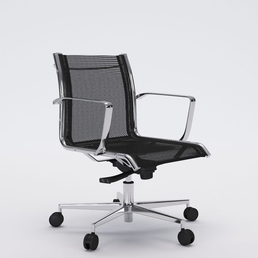 Collezione Office Chair 1 royalty-free 3d model - Preview no. 23