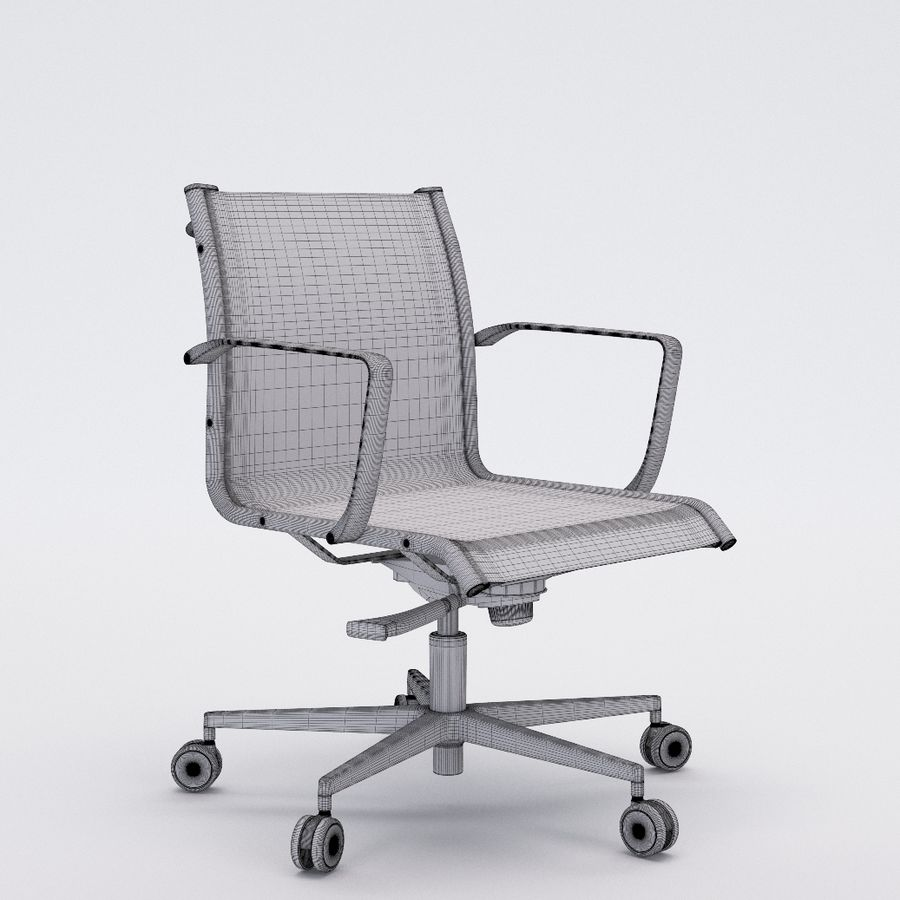 Collezione Office Chair 1 royalty-free 3d model - Preview no. 36