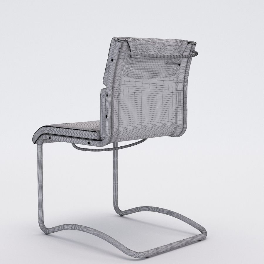 Collezione Office Chair 1 royalty-free 3d model - Preview no. 27