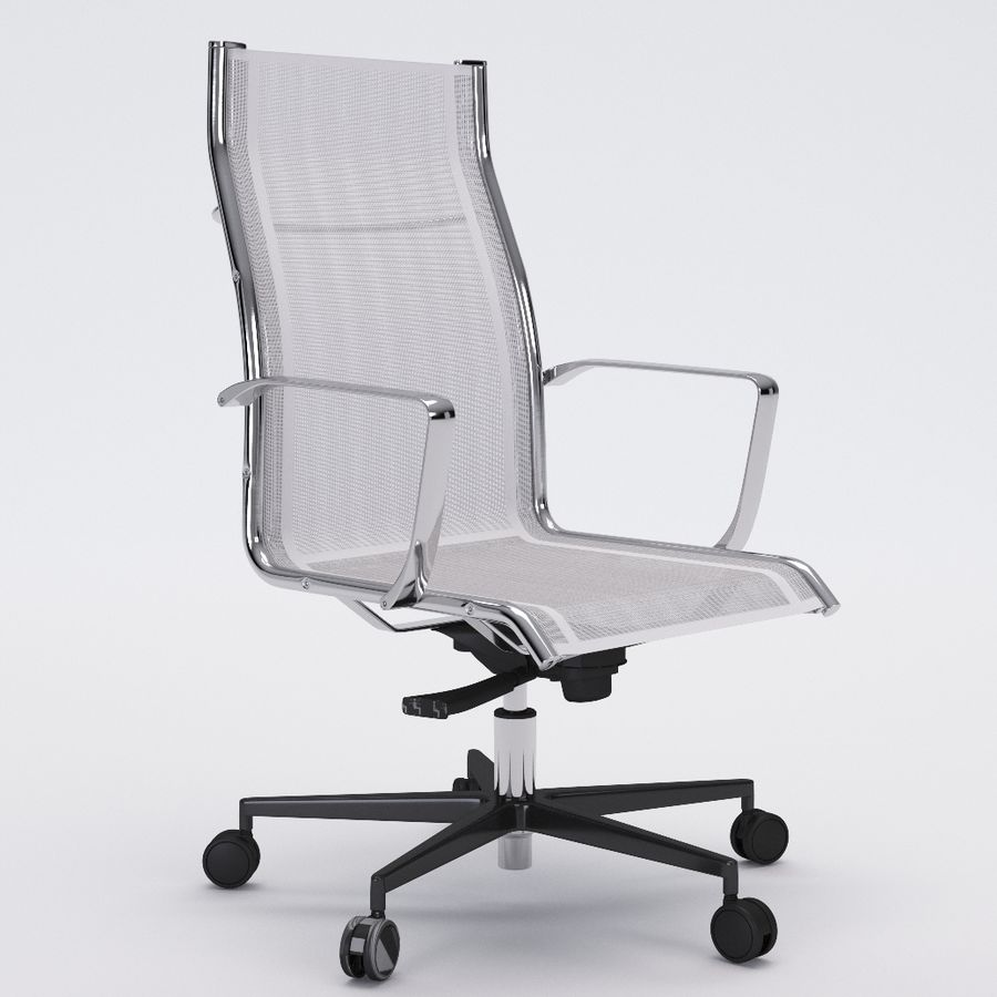 Collezione Office Chair 1 royalty-free 3d model - Preview no. 11