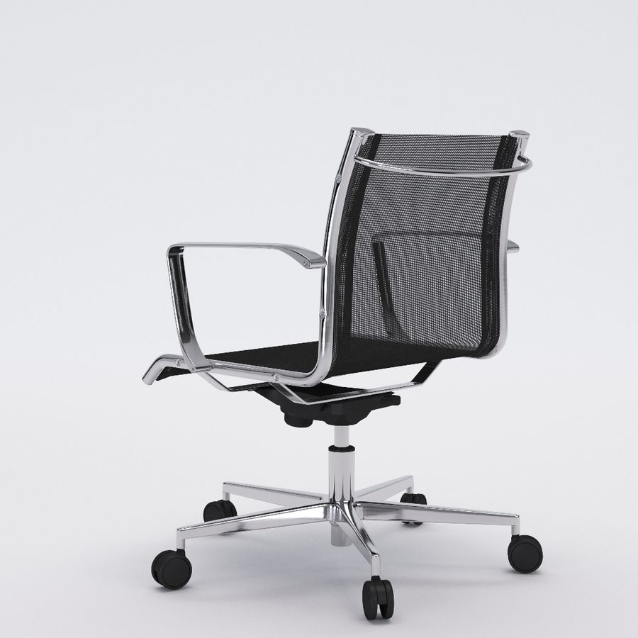 Collezione Office Chair 1 royalty-free 3d model - Preview no. 25