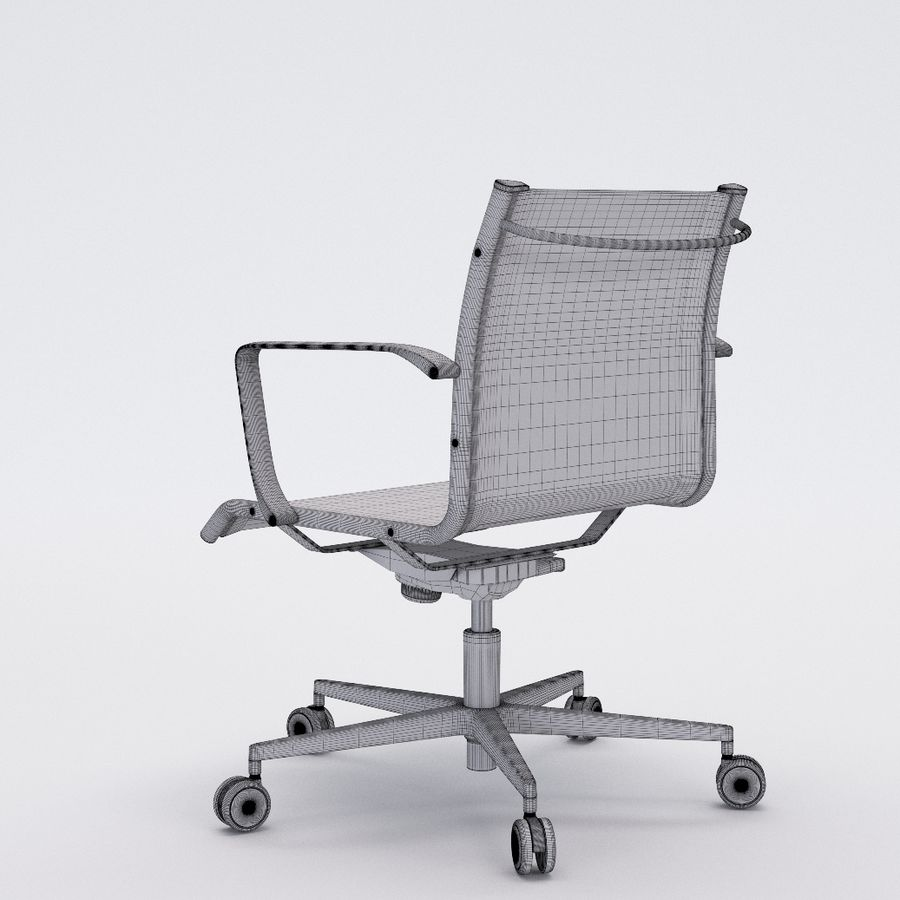 Collezione Office Chair 1 royalty-free 3d model - Preview no. 37