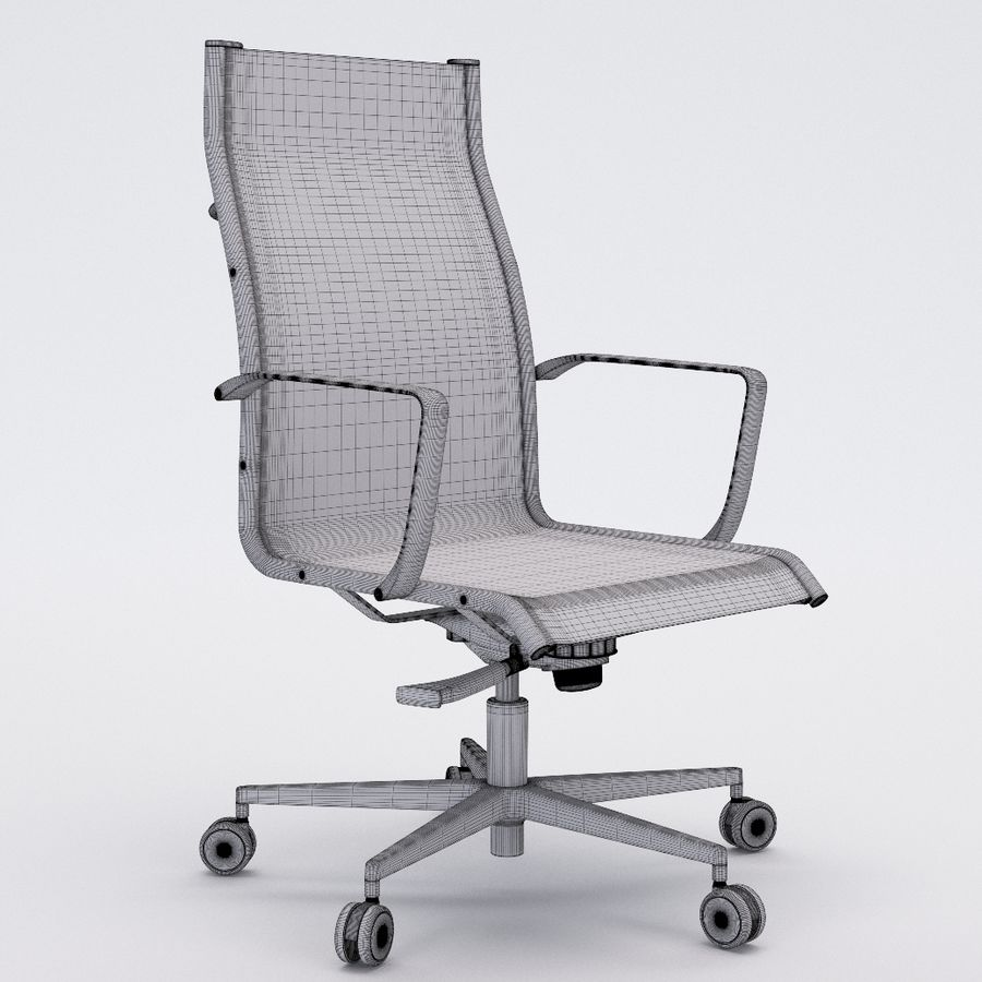 Collezione Office Chair 1 royalty-free 3d model - Preview no. 30