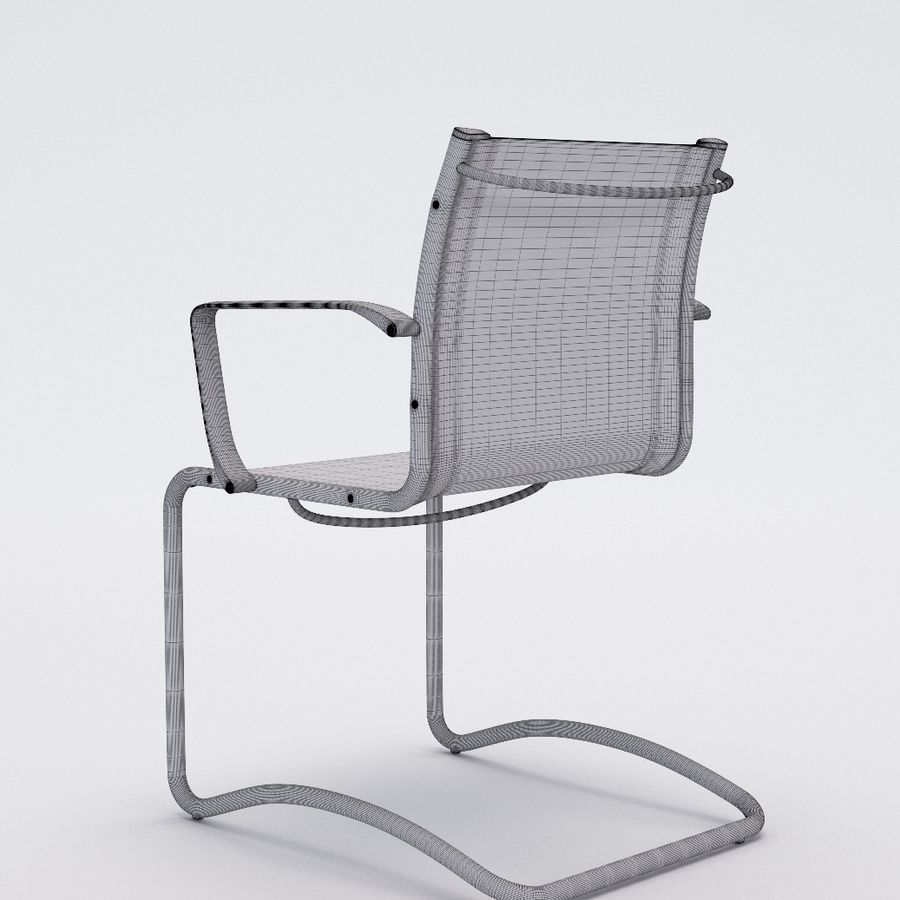 Collezione Office Chair 1 royalty-free 3d model - Preview no. 29