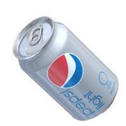 Pepsi Light Can 3d model