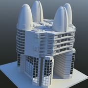 建筑科幻小说(03) 3d model
