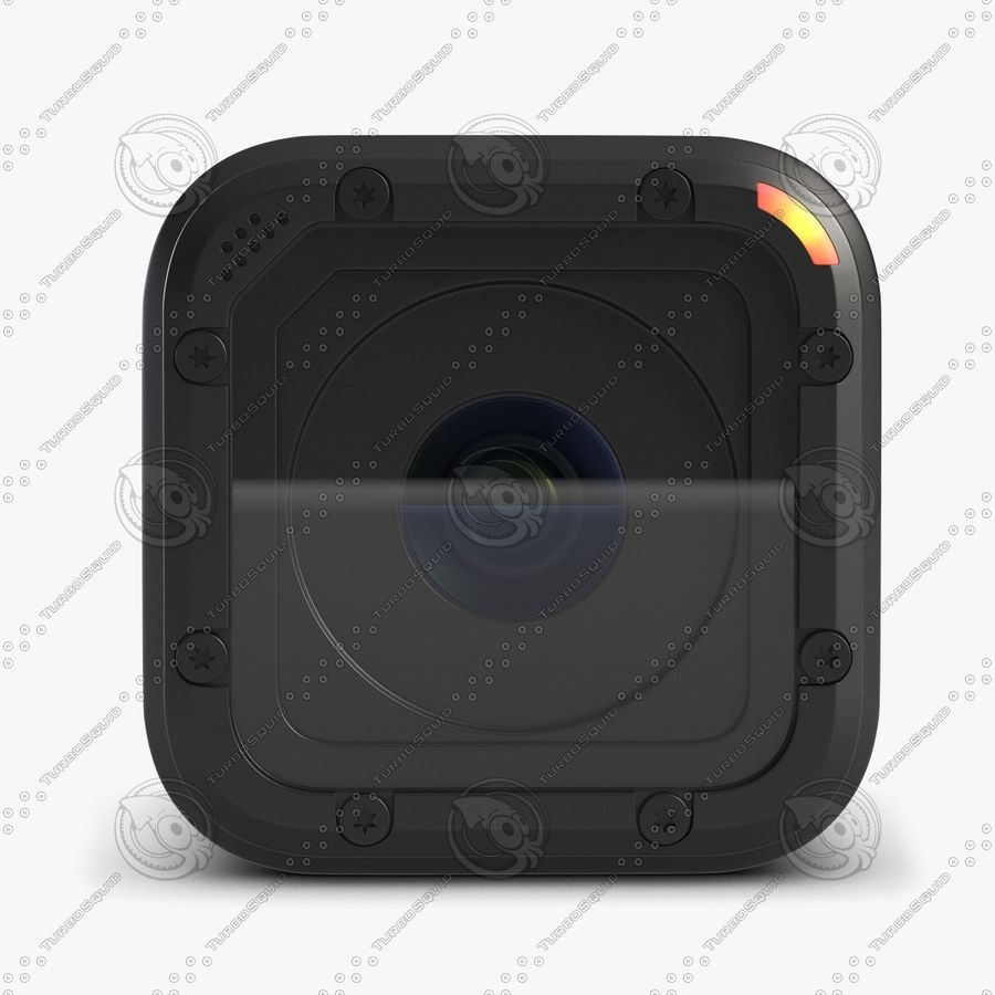 Kamera GoPro Oturumu royalty-free 3d model - Preview no. 2