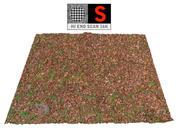 Scansione a terra del prato autunnale 16K 3d model